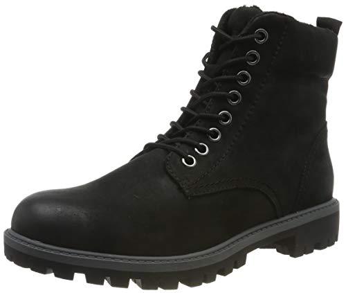 Tamaris Damen 1-1-25272-23 Combat Boots, Schwarz (Black 1), 38 EU