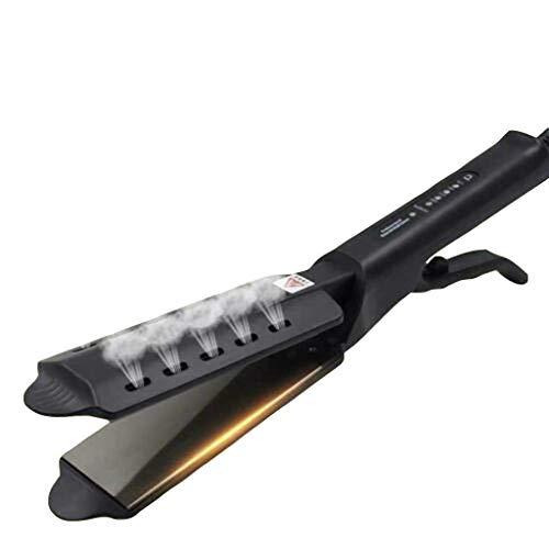 Ceramic Tourmaline Ionic Flat Iron Hair Straightener Flat Iron for Hair Professional Glider Hair Straightener Ceramic Flat Iron for All Hair Types, Wet & Dry Using