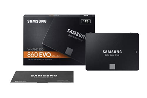 Samsung SSD 860 EVO 1TB 2.5 Inch SATA III Internal SSD (MZ-76E1T0B/AM)