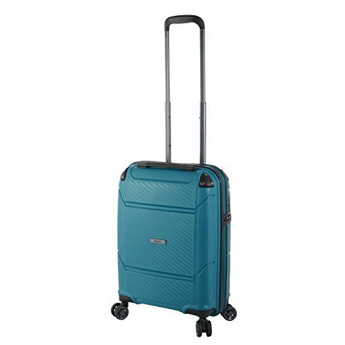 Rada Handgepäckkoffer mit 4 Rollen Hartschale, Kleiner leicht Reisetrolley 55 x 40 x 20 cm