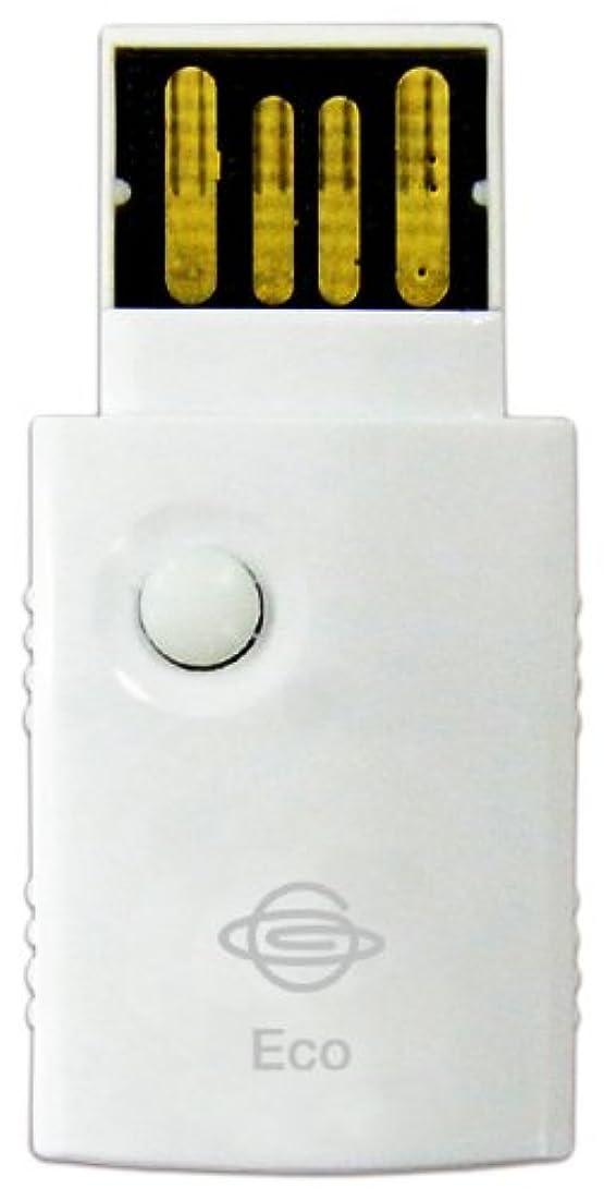 場所指令ドームPLANEX 11n/g/b対応 WPSボタン搭載 300Mbpsハイパワー無線LAN USBアダプタ GW-USEco300