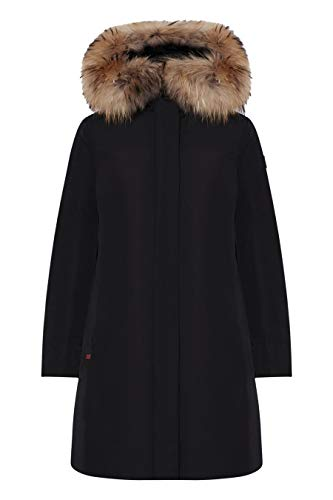 Woolrich WWCPS2815 UT0573 100 Black Cappotto Donna L