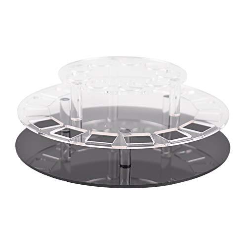 joyMerit 360 Rotante Rossetto Torre Organizzatore Cosmetici Caso Box Mensola Del