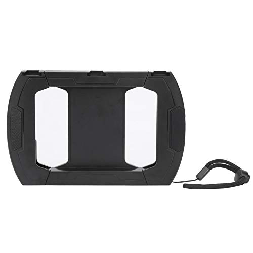 Jarchii Cómoda Caja de Almacenamiento Negra para teléfono móvil, Plataforma de Video para teléfono móvil, para teléfonos móviles Luz de Relleno de micrófono de teléfono Universal