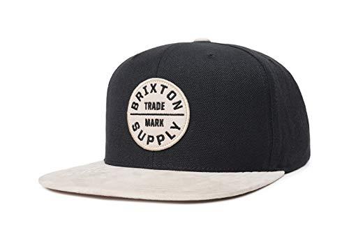 BRIXTON Headwear Oath III Snapback, Schwarz Vanille, One Size, 00173