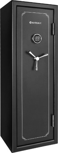 Barska FV-1000 Fire Safe Vault, Black, One Size