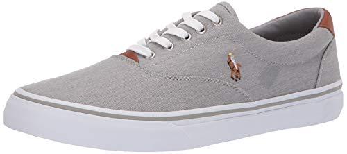 Polo Ralph Lauren Mens Thorton Sneaker Soft Grey 9.5 D US