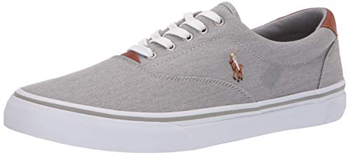 top rated Sawton Polo Ralph Lauren Men's Sneakers, Soft Gray, 9.5 US 2020