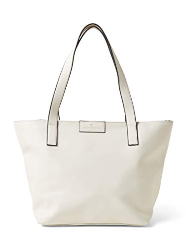 TOM TAILOR Damen Taschen & Geldbörsen Shopper Miri white,OneSize