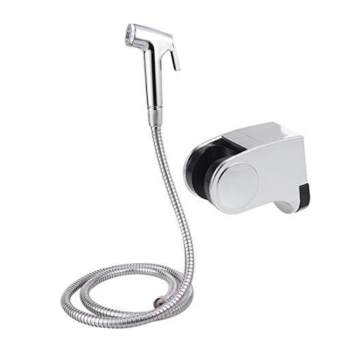OUNONA Micrscope Bain Bidet kit Toilette Vaporisateur Couche Lave-Linge séchant Douche Portable Pulvérisateur Spray Acier Inoxydable pour hygiène personnelle et Apprentissage WC Douche Attaque
