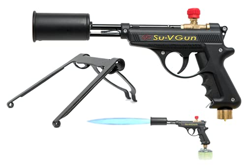 GrillBlazer Su-VGun Basic Grill & Culinary Torch - Charcoal Starter - Professional Cooking, Grilling and BBQ Tool - Handheld Blowtorch For Chefs, Men and Women Who Want the Best Tool for the Job