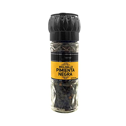 Pontino Pimienta Negra Entera, 48 g