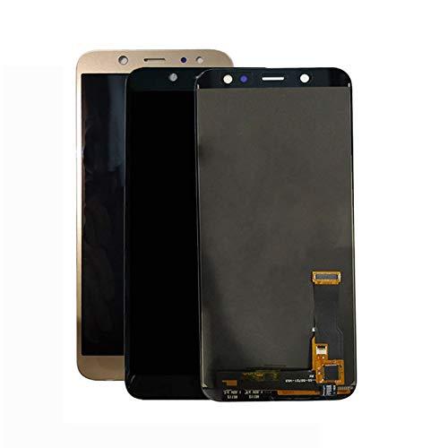 LYXDZW Pantalla del Teléfono Móvil Fit For Samsung Galaxy A6 2018 A600F A600FN A600 Digitalizar La Pantalla A600F Puede Ajustar Incell Pantalla táctil de visualización FF (Color : Black incell)