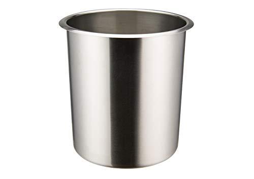Winco BAMN-3.5, 3.5-Quart Stainless Steel Bain Marie Pot W/О Lid, NSF, Double Boiler, Sauce Pot