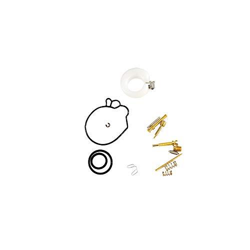 Motodak kit Reparation carbu teknix Compatible avec Peugeot/Honda/sym 2 Temps Origine ou 480419 (15 pcs)