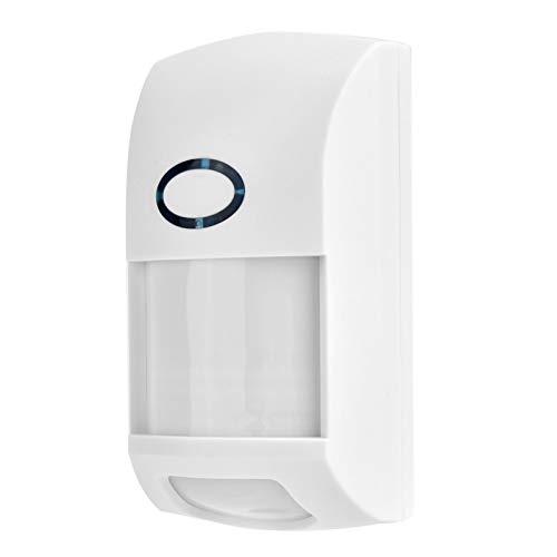 Yctze Sensor de Alarma Sensor de Infrarrojos Alarma 25KG Alarma de Seguridad inmune a Mascotas Sensor de Movimiento infrarrojo Dual