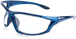 Smith & Wesson Major Full Frame Shooting Glasses with No-Slip Rubber, Impact Resistance and Storage Bag for Shooting, Working and Everyday Use