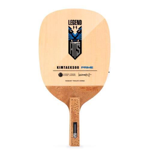 TMOUNT Kim TAEK SOO Prime - Performance Table Tennis Blade - Professional Ping Pong Paddle - Japanese Style Penhold Blade - Made in Korea
