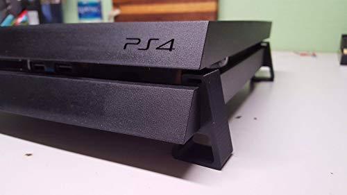 Playstation 4 Cooling Stands - 3D Printed PLA Plastic - BLACK
