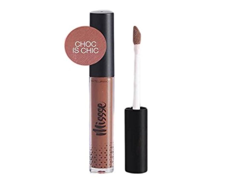 石のティッシュ月面Missse Matte Liquid Lipstick - Choc is Chic Color