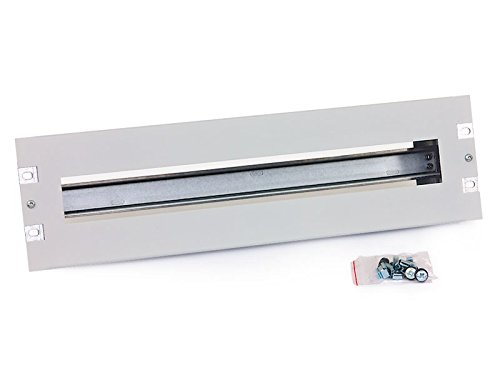 Tritón RAC-JL-X01-A1 48,26 cm (19 Zoll) Schutzschalterleiste 3HE mit Hutschiene schwarz