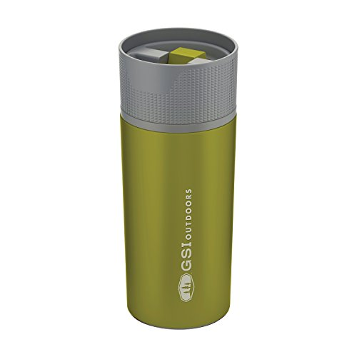 GSI Outdoors Stainless Vacuum Coffee MUG Carafe mixte adulte Vert Taille unique