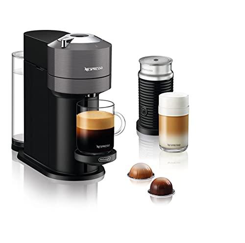 De'Longhi Nespresso Vertuo Next ENV120.GY - Macchina per caffè espresso a capsule, 1500W,...