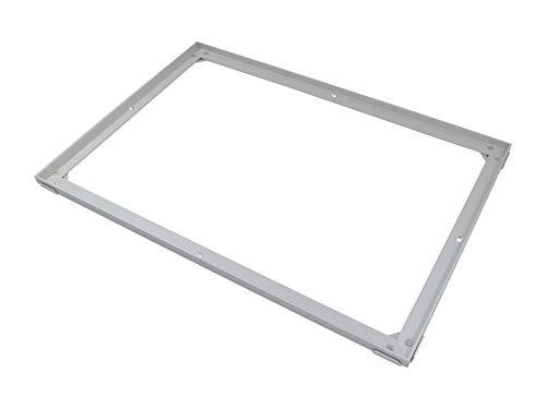 EMCO Einbaurahmen Edelstahlrahmen Rahmen 500/25 Zubehör Fußabstreifer Fußmatte DIPLOMAT + SENATOR, Größe:600 x 400 mm