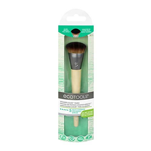 EcoTools Pincel de maquiagem Wonder Cover com acabamento profissional, aplicação precisa de blush e contorno