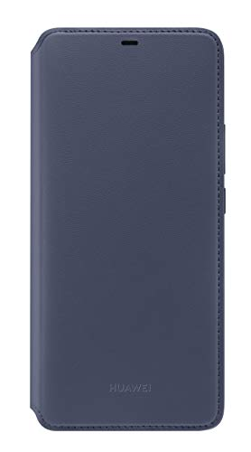 Huawei Wallet Cover, passend für Mate 20 Pro Dunkelblau