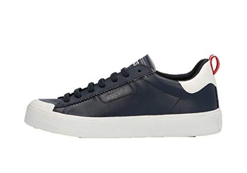 GUESS FOOTWEAR MAIN Mima, Zapatillas Deportivas Hombre, Turquesa, 45 EU