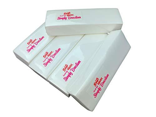 500 Süß Wax Vliesstreifen für Haarentfernung, Wachspatronen, Epilation, Sugaring und Waxing