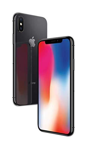 Apple iPhone X 256GB スペースグレー SIMフリー (整備済み品)