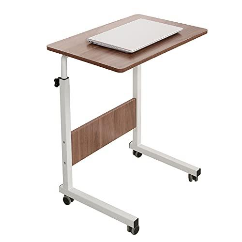 SogesHome Tavolo per computer portatile, 80 x 40 cm, in piedi regolabile in altezza, scrivania per computer per letto, divano, ospedale, infermieristica, lettura, mangiare,SH-CXYM-5-1-80HW