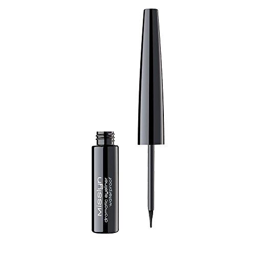 Misslyn Dramatic Eyeliner Waterproof Nr.1 black, 4.5 ml