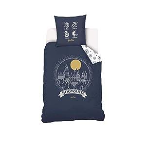 Warner Harry Potter - Juego de Funda nórdica y Funda de Almohada (100% algodón, 140 x 200 cm, 63 x 63 cm), diseño de… 11