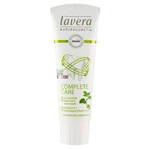 Lavera Organic Toothpaste Complete Care Mint 2.5floz