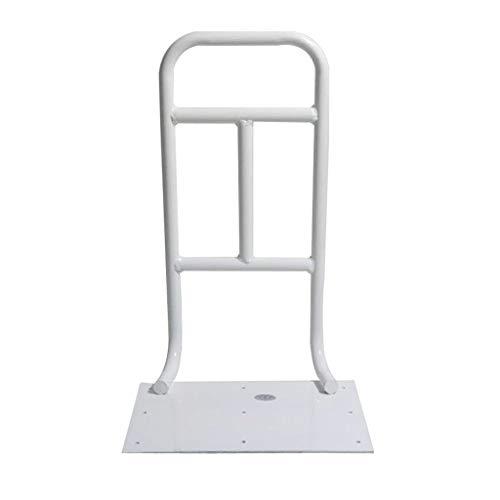 LHNLY-Handlauf Bettgitter für ältere Menschen - Bettaufstehhilfe Bettgeländer aufstehhilfe bettgalgen für Senioren, Patientenhilfsstange, Universal-Standhilfe, Weiß