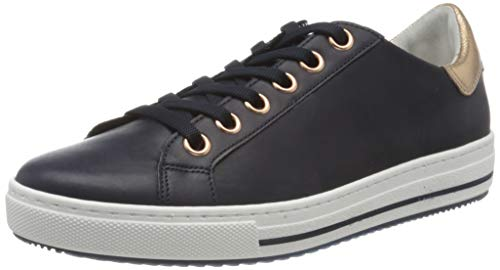 Gabor Shoes Damen Comfort Basic Sneaker, Blau (Midnight/Rame 66), 38.5 EU