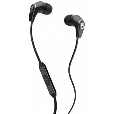 Skullcandy S2FFFM256 50/50 In-Line Microphone and Control Switch/Volume - Black