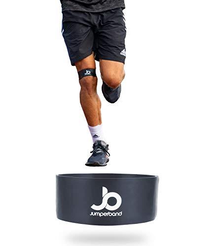 Jumperband Run Läuferknie Bandage (Knie) für Herren und Frauen (Sport, Jogging, Alltag) Lindert Schmerzen + Perfekte Passform + Überall Einsetzbar + Kein Verrutschen (XL)