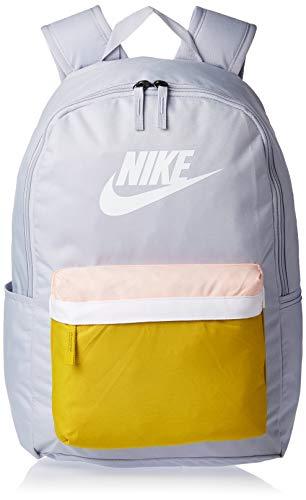 Nike Nk Heritage Bkpk - 2.0 Sports Backpack - Sky Grey/Saffron Quartz/(White), MISC
