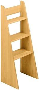 BioKinder 22251 Scaletta Noah scala letto a soppalco in legno massello di ontano 100 cm
