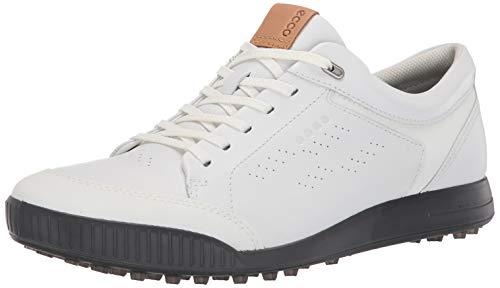 ECCO Street Retro 2.0, Chaussures de Golf Homme, Blanc (Blanco 15061401002), 39 EU