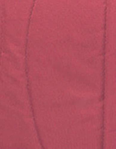 KLI Nouveau-Né Bébé Se Pliant Portatif De Matelas De Lit De Bébé Paniers De Sommeil De Coton De Bébé Sac De Voyage Paquet De Maman, Lit De 92 * 33 * 17Cm, Matelas, 2 Protections Anti-Roulement,Red