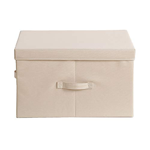 YUANP Storage Bins, Foldable Storage Boxes With Lids Storage Baskets Storage Containers Organizers With For Toys,Clothes And Books Etc,C-S