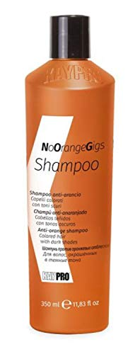 KEPRO Kay Pro No Orange Gigs SHAMPOO ANTI-ARANCIO per capelli colorati con toni scuri 350ml