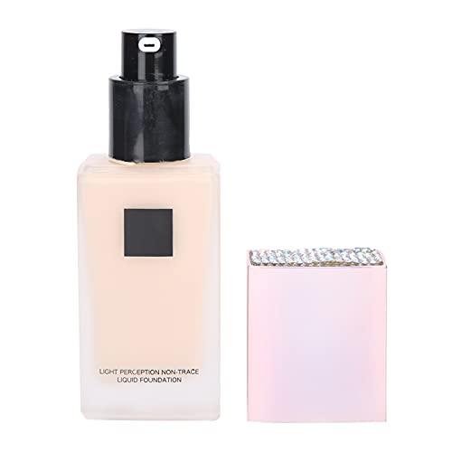 Vloeibare Foundation, Hydraterende Vloeibare Foundation Makeup Basisolie ‑ Control Concealer Cream Stralende Lichtgewicht Make-up Cosmetica 30 Ml