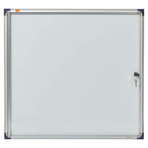Nobo 1900847 - Vitrina de interior extraplana 6 x DIN A4 hojas