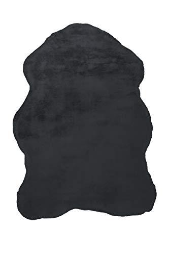 Arte Espina Tapis Rabbit Sheepskin 200 - Anthracite - 60 x 90 cm